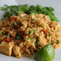 Fried Rice with Cauliflower Recipe