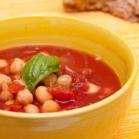 Chick Pea Soup, Milanese Style Recipe