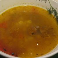 Мясной суп с нутом Recipe