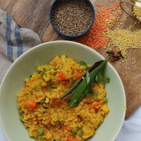 Millet Khichadi with lots of veggies Recipe
