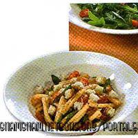 Casereccia con pomodorini e ruchetta Recipe