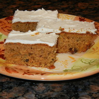 Simple Pumpkin Sheet Cake Recipe