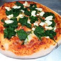 New York Style Spinach & Goat Cheese Pizza Recipe