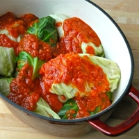 Golumpkis (Polish stuffed cabbage rolls) Recipe