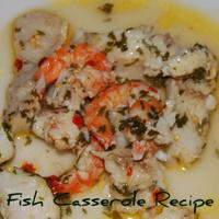 Mediterranean Fish Casserole Recipe