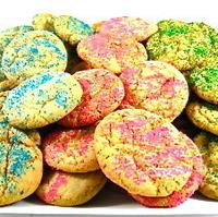 Skinny Springtime Sugar Cookies, Terrific for Easter Recipe
