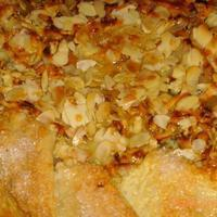 Pear and Blue Cheese Crostata with Honey and Almonds Recipe