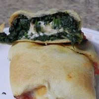Spinach and Mozzarella Pockets Recipe