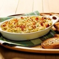 Crab Dip with Bacon and Fontina Cheese Recipe