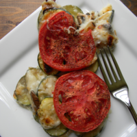Crustless Zucchini Pie Recipe