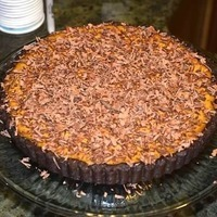 Pumpkin Tart with Chocolate Caillat Crust Recipe