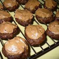 Triple-Play Chocolate Drop Cookies with Mocha Frosting Recipe