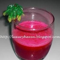 "Have A Glass Of ""Unbeetable"" Juice! Recipe"