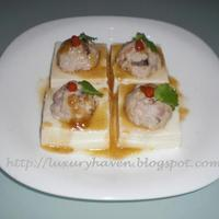Cute Little Steamed Tofu Recipe