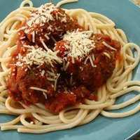 Gluten Free Spaghetti and Mushroom Meatballs Recipe
