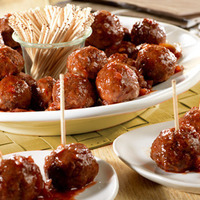 Beef Meatballs & Picante Glaze Recipe