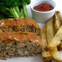 Ball Park Turkey Meatloaf, Delicious, Low Calorie and Low in Fat Recipe