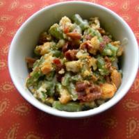 Green Bean Casserole Au Gratin Recipe