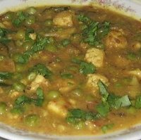 Matar Panner with twist (Peas and cottage cheese) Recipe