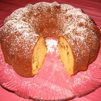 Yellow Cinnamon Bundt Cake Recipe