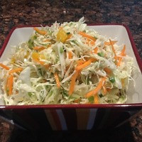 Coleslaw with Orange Vinergarette Recipe