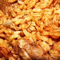 Chicken rice (Locrio de pollo) Recipe
