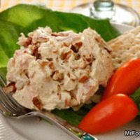 Curry Chicken Salad with Tarragon and Sliced Almonds Recipe