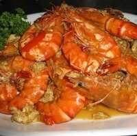 Tiger Prawns with Garlic and Butter Recipe