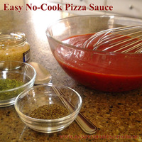 No-Cook Pizza Sauce Recipe