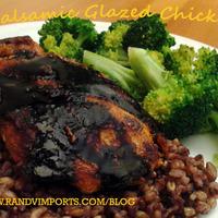 Balsamic Glazed Chicken Recipe