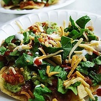 Veg. Mexican Taco Salad Recipe