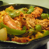 Quick & Easy Sausage & Peppers Recipe
