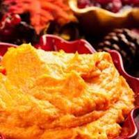 Maple Mustard Pork Tenderloin & Pear with Mashed Sweet Potatoes Recipe