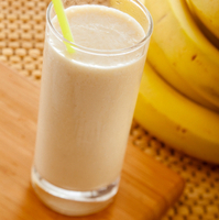 Banana, Mango and Passionfruit Smoothie Recipe
