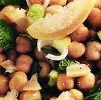 Салат из гороха нут с пряностями. Recipe