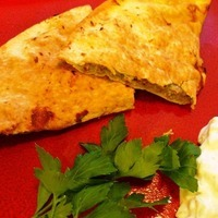 Sausage and Zucchini Pita Sandwich ~ A Kofta (Kafta) Variation Recipe
