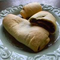 Sweet Potato Nutella Rolls Recipe