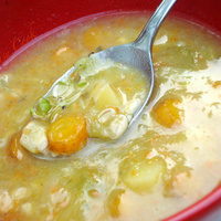 Vegetable soup with barley Recipe