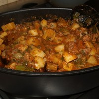 Georgian Beef and Potato Stew Recipe