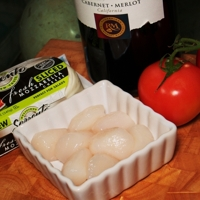 Sea Scallop Insalta Caprese Recipe