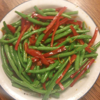 Orange-Infused Roasted Green Beans & Red Peppers Recipe