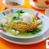 Cantonese Seafood Yee Mee Recipe