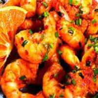Monster Shrimp With Orange Chili Sauce Recipe