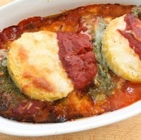 Make Ahead Pesto Polenta Lasagna Recipe