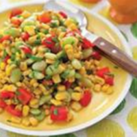 Roasted Vegetable Succotash Recipe
