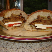 Refreshing Eggplant Sandwich Recipe