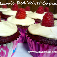 Balsamic Red Velvet Cupcakes Recipe