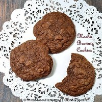 Mocha Brownie Cookies Recipe