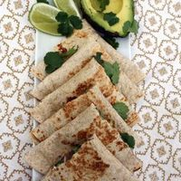 BLack Bean, Goat Cheese and Cilantro Quesadillas Recipe