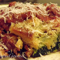Zucchini and Mushroom Parmesan Bake!!! Recipe